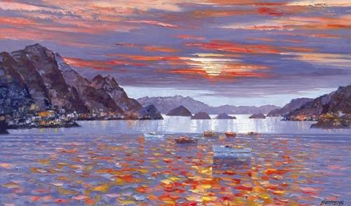 Almafi Sunset