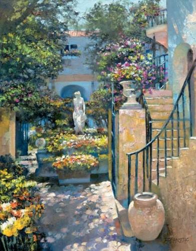 Palm Beach Flower Garden