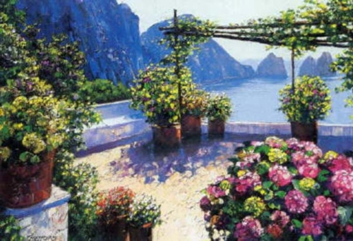 Patio Over Capri