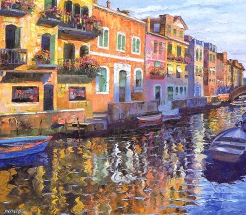 Venetian Balconies