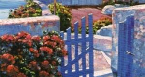 Blue Gate - Santorini