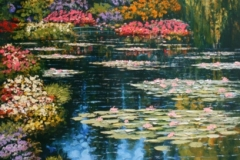 Shimmering Waters of Giverny